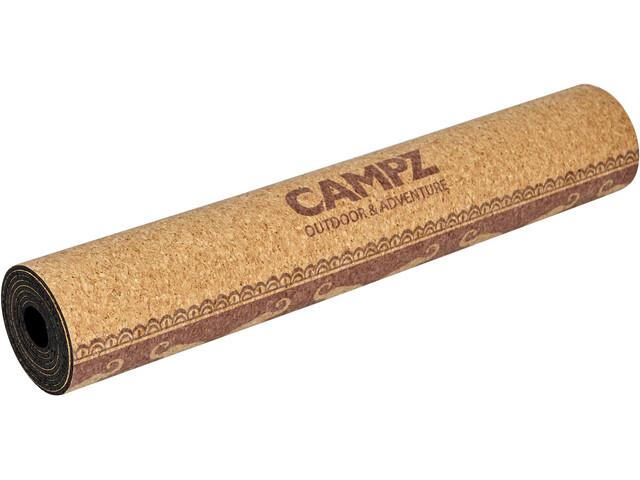 CAMPZ Cork Elephant Esterilla de Yoga L, brown